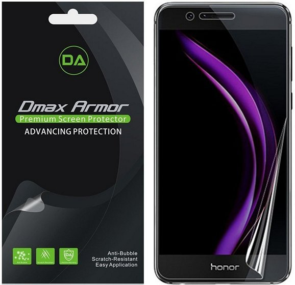 Dmax Clear Edge to Edge Honor 8 screen protector