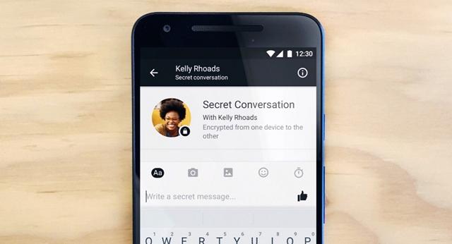 Facebook Messenger Secret Conversation