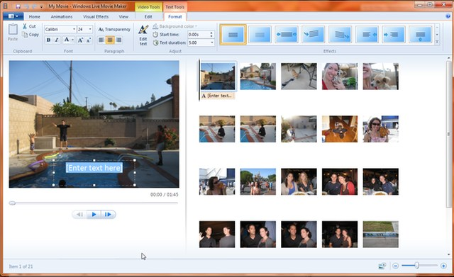 The app is used to turn the photos into the slideshows and the video clips into the videos and was available for the Windows 7 only. However, this Final Offline Setup is available for Windows 7, 8 and 10 as well, so that the users cannot miss the next level movie making the experience on their desktop.