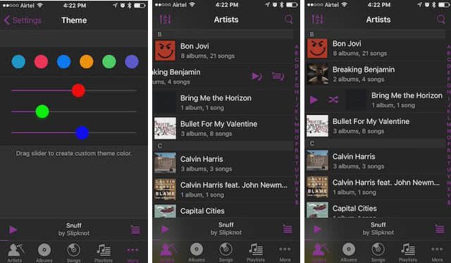music players for iPhone