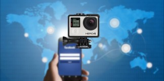 how to live stream videos on facebook using gopro