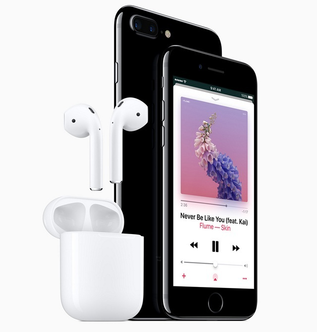 Wireless headphones case - headphones iphone round case