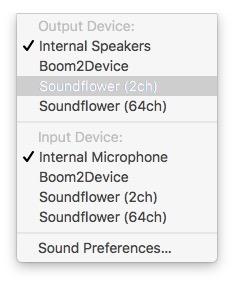 select-soundflower