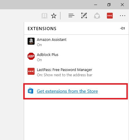get-extensions