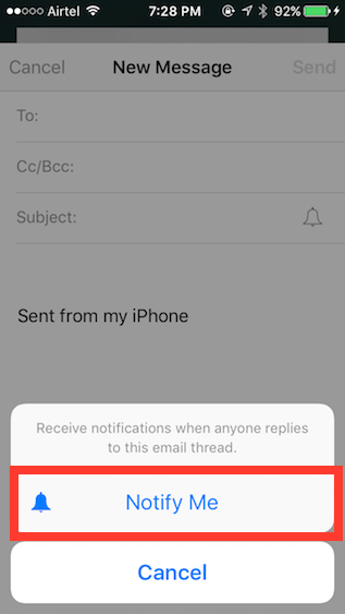 Apple Mail tricks notify-me