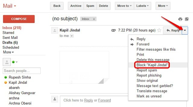 bloquear-dirección-de-correo-electrónico-gmail-web