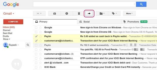Google Mail-Enable-Multi-Forward-Erweiterung