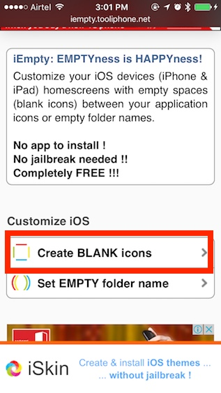personalizar la pantalla de inicio del iPhone