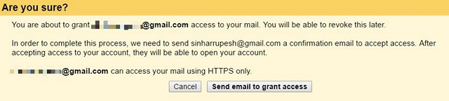 Gmail-грантоеды доступ-делегаты