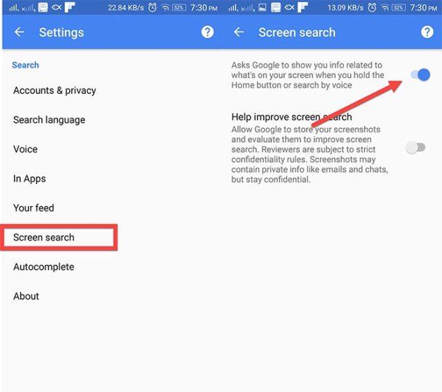 google-screen-search