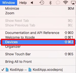 xcode-window-devices