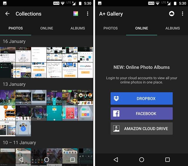 A+ Gallery App