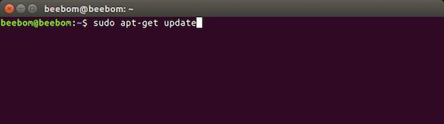 apt get update sources