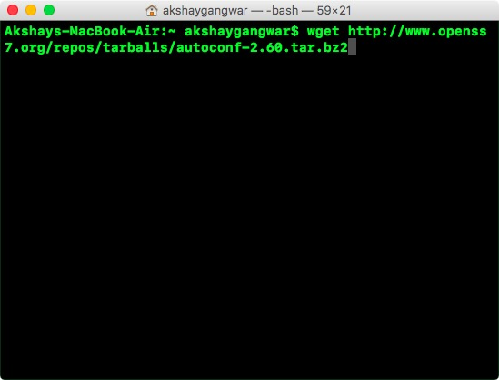 use wget to download files