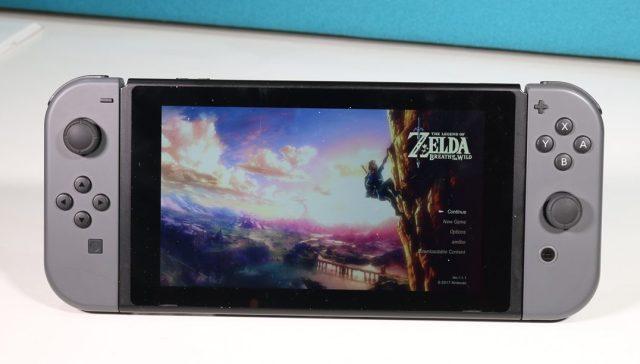 Nintendo Siwtch Display