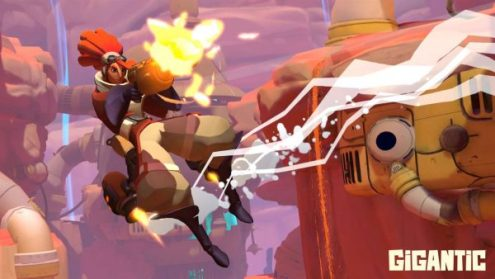 15 Best Games like Overwatch You Should Play  2017    Beebom Gigantic is another game very similar to Overwatch  It s a hybrid of  First Person shooters and MOBAs  However  Gigantic leans more towards the  MOBA genre