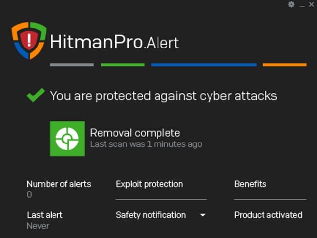 HitmanProAlert Anti-Ransomware