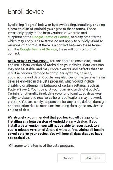 Únete a Android O Beta