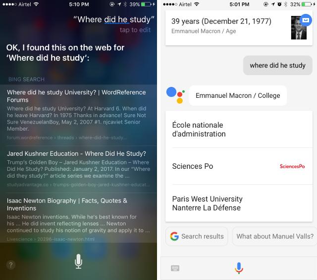 Google Assistant auf dem iPhone vs. Siri: Kann Google Assistant mithalten?