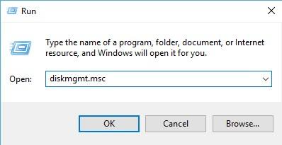 Disk Management Run