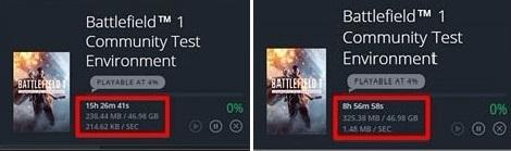 Origin Increase Download Speed