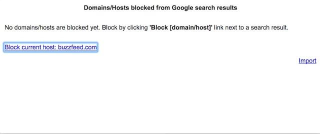 Lista de bloqueo personal 2