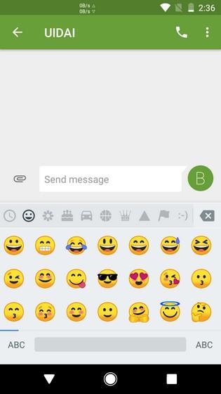 Android O emojis