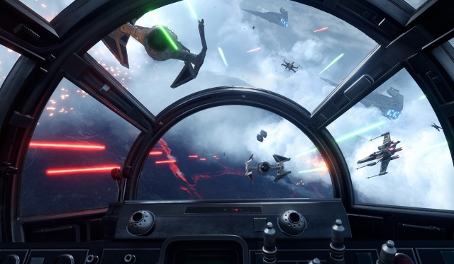 Star Wars Rogue One X-Wing VR