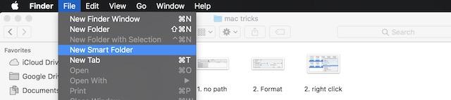 4. Smart Folder