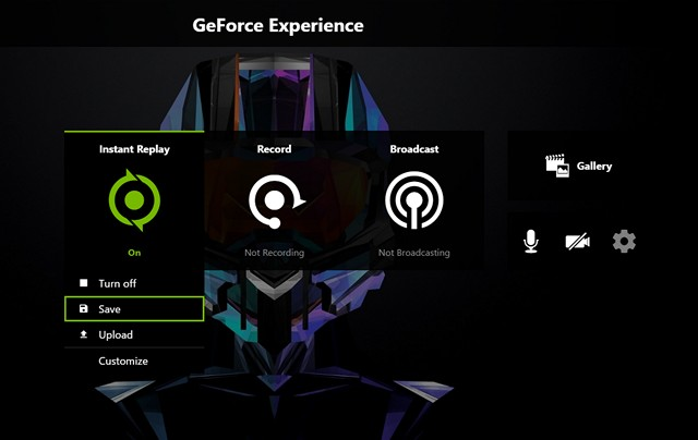 where does geforce experience save video