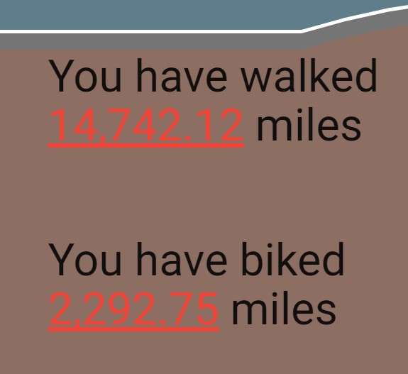 Distance Walked