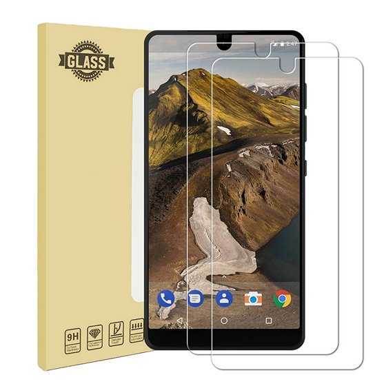 Halnziye Essential Phone Tempered Glass Screen Protector