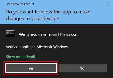 Control de cuentas del usuario