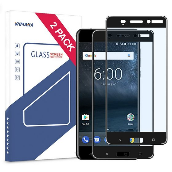 Wimaha Tempered Glass Screen Protector for Nokia 6