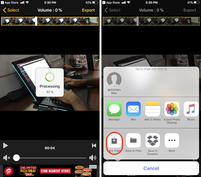 iPhone step 4