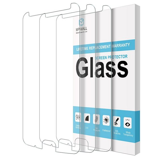 MP-Mall Tempered Glass Screen Protector For Moto X4