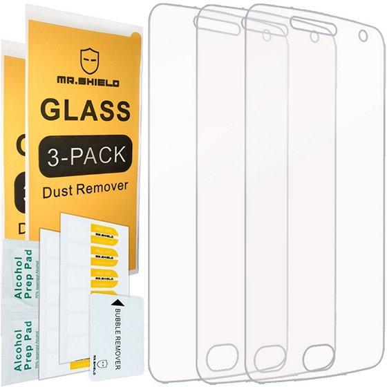 Mr. Shield Moto X4 Tempered Glass Screen Protector