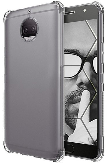 Ouba Flexible TPU Moto X4 Clear Case