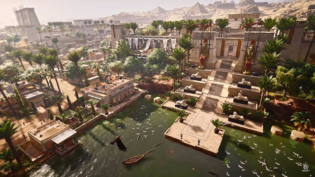 AC Origins Visual Fidelity