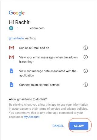Hinzufügen von Google Mail-Add-Ons - Schritt 4