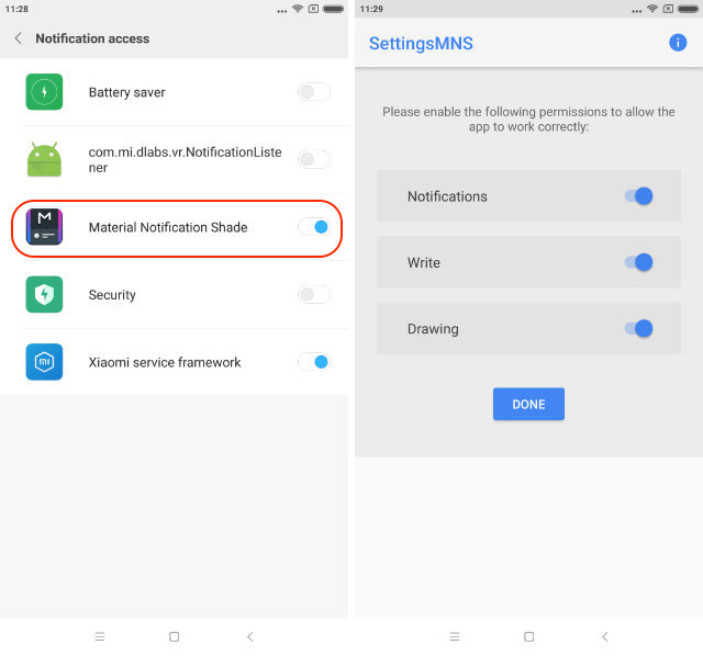 Get Stock Android-like Notification Center in MIUI step 3
