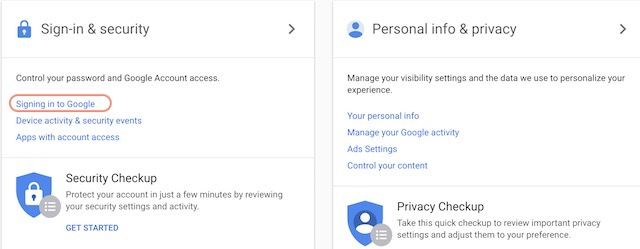 Setting Up Google Prompt For Two-Factor Authentication - step 2