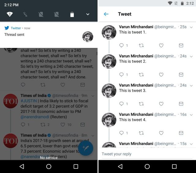 Tweet Storm Thread