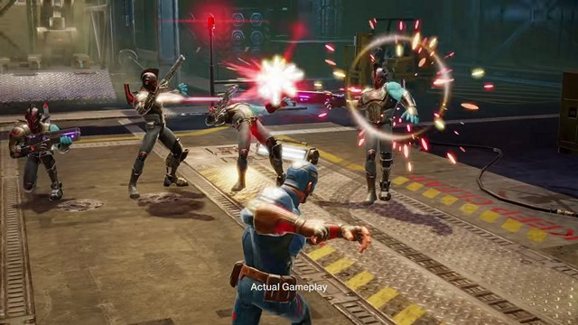 Marvel Strike Force Gameplay