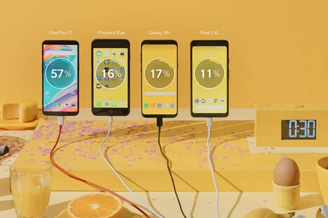 OnePlus 5T Dash Charging Ad