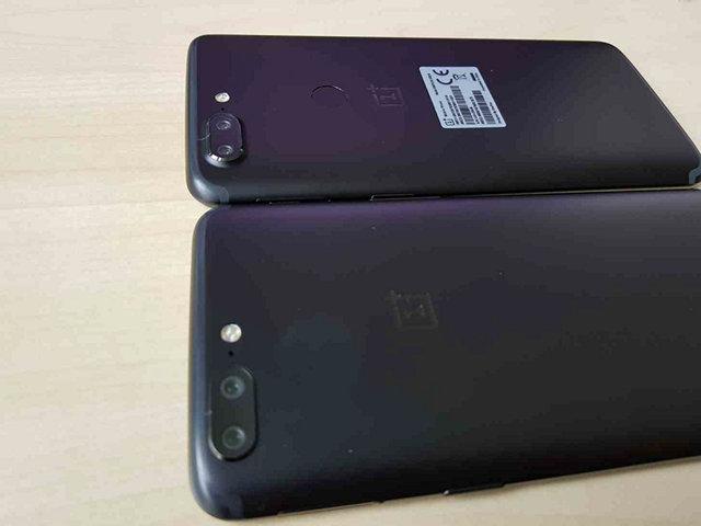 OnePlus 5T Fingerprint scanner