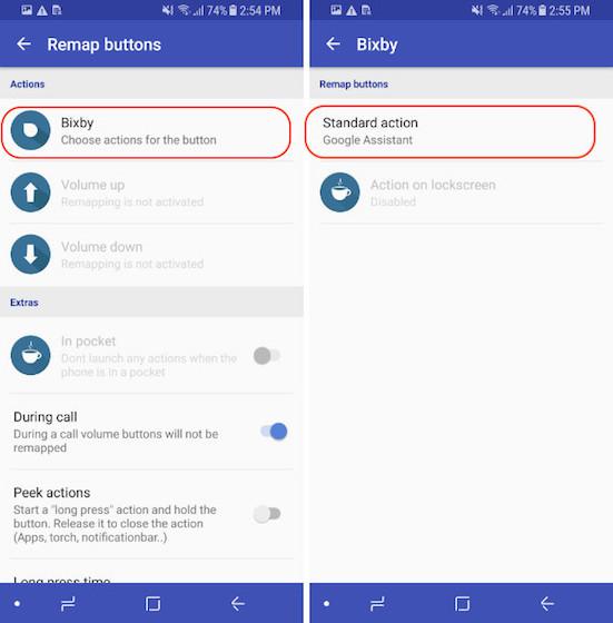 Reasignación del botón Bixby - Modo de bloqueo - Paso 4
