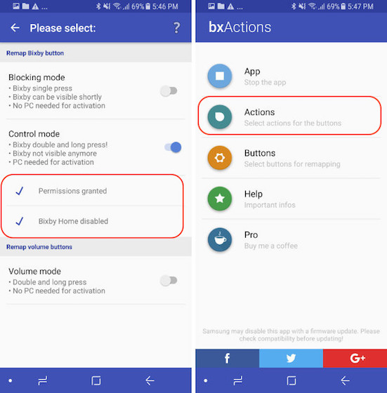Remap The Bixby Button - Control Mode - Step 10