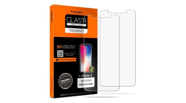Spigen iPhone X Screen Protector Tempered Glass