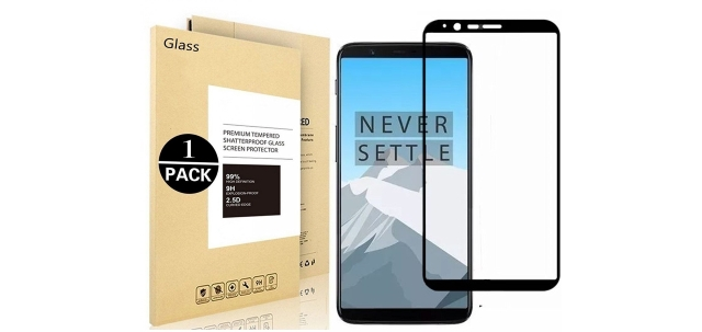 Vigeer OnePlus 5T Tempered Screen Protector